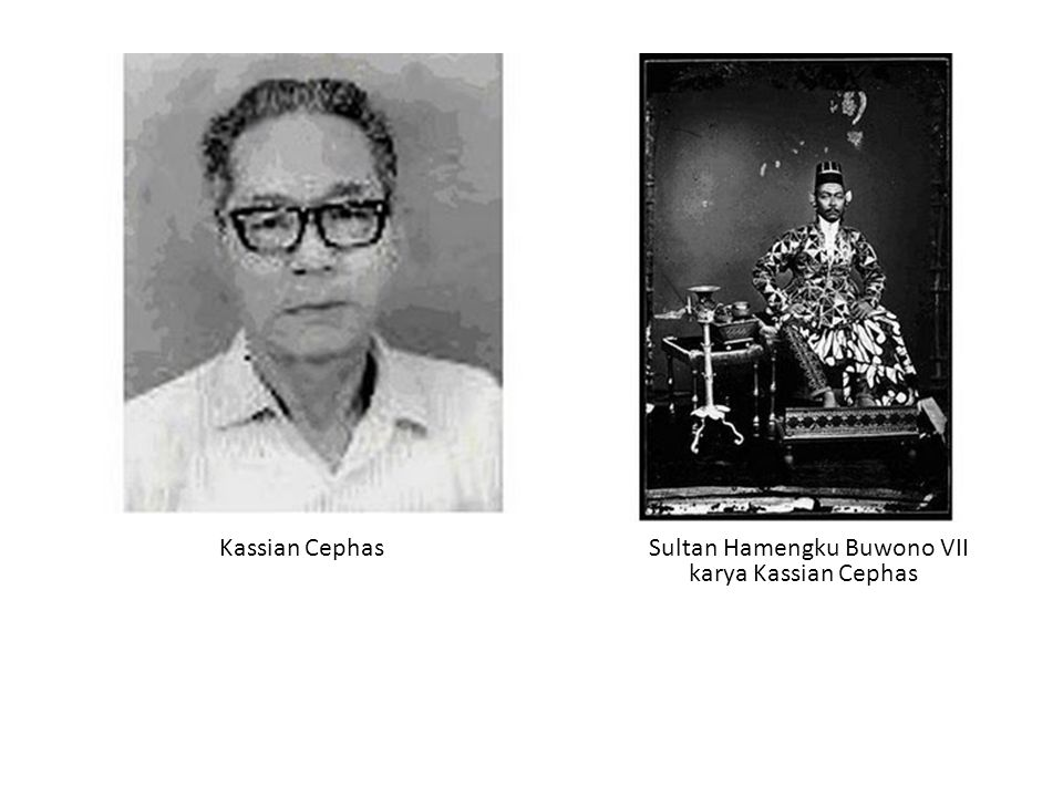 Kassian Cephas Sultan Hamengku Buwono VII karya Kassian Cephas