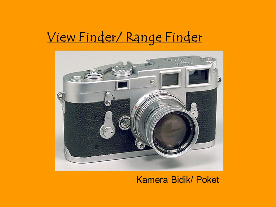 View Finder/ Range Finder