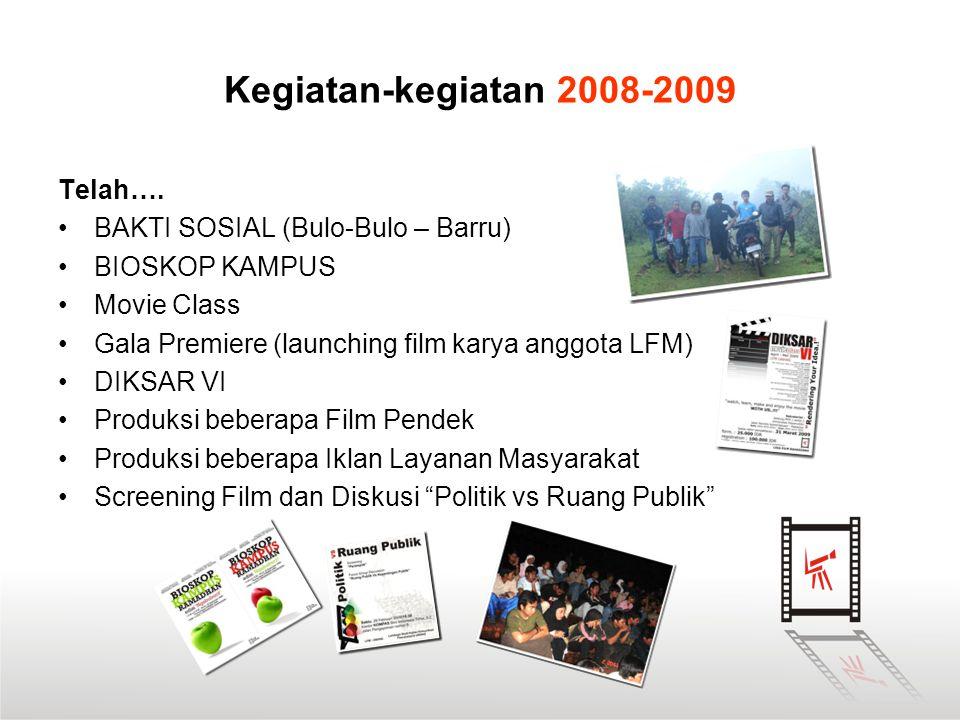 Kegiatan-kegiatan 2008-2009 Telah…. BAKTI SOSIAL (Bulo-Bulo – Barru)