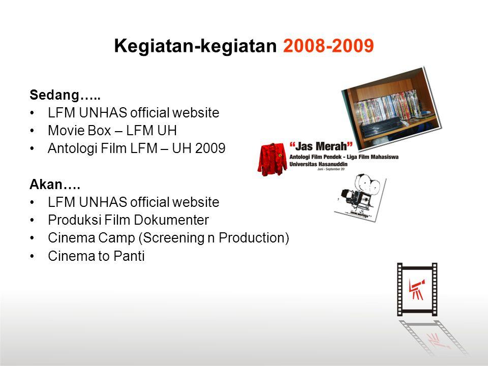 Kegiatan-kegiatan 2008-2009 Sedang….. LFM UNHAS official website