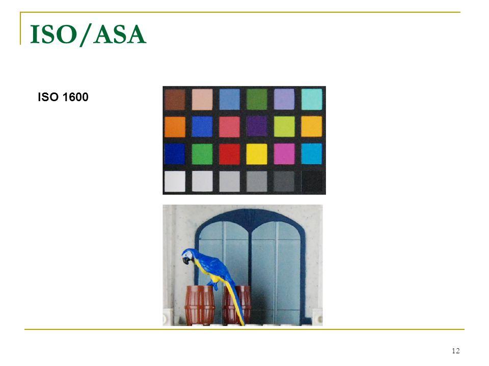 ISO/ASA ISO 1600