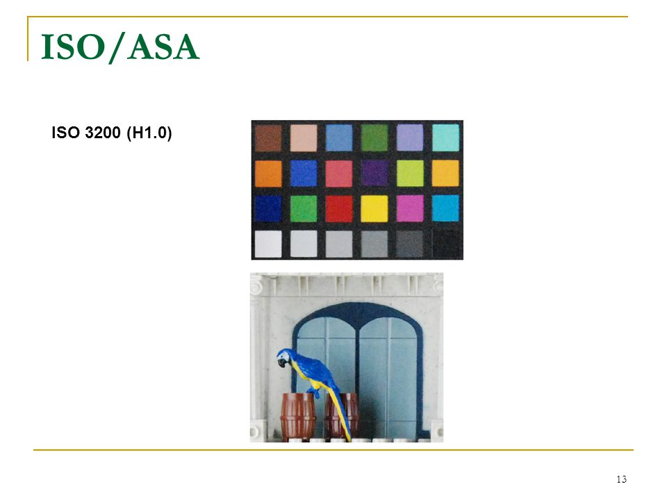 ISO/ASA ISO 3200 (H1.0)