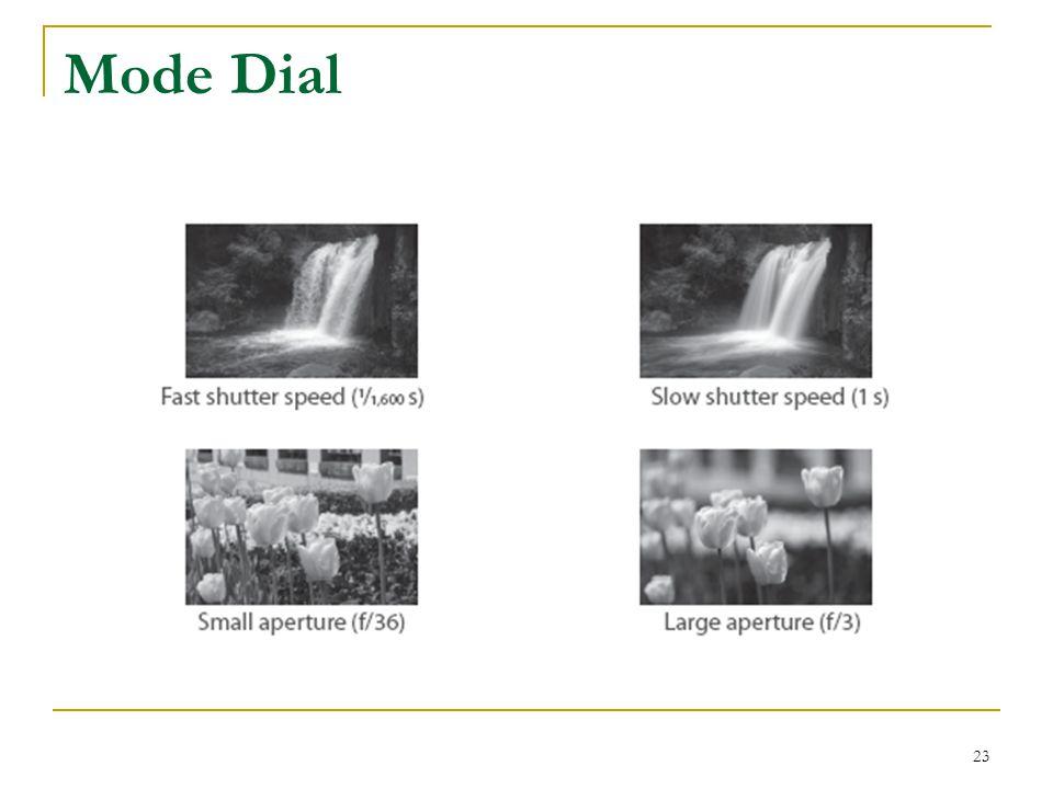 Mode Dial