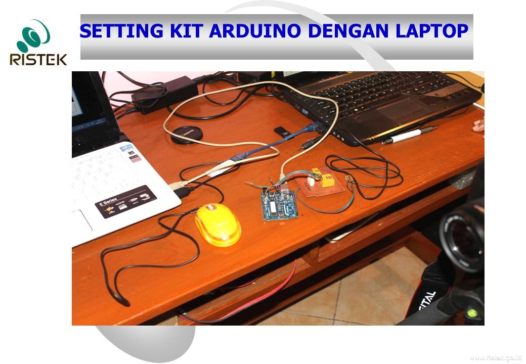SETTING KIT ARDUINO DENGAN LAPTOP