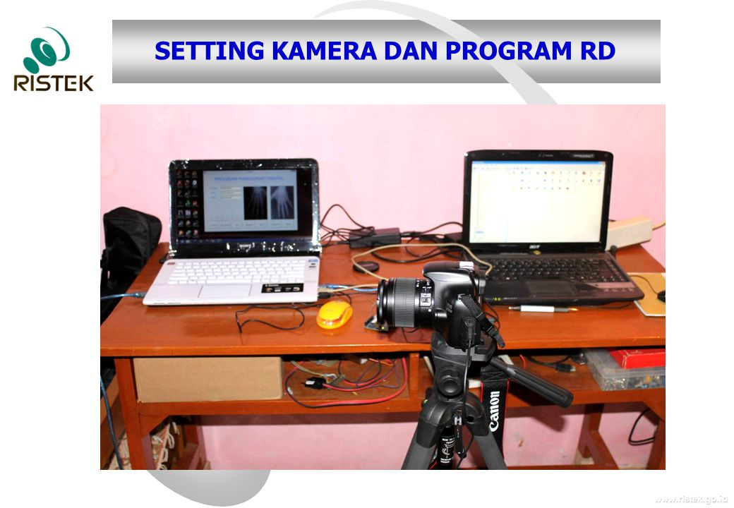 SETTING KAMERA DAN PROGRAM RD