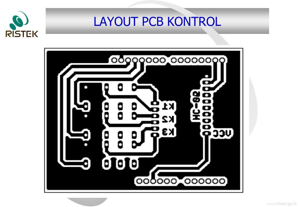 LAYOUT PCB KONTROL