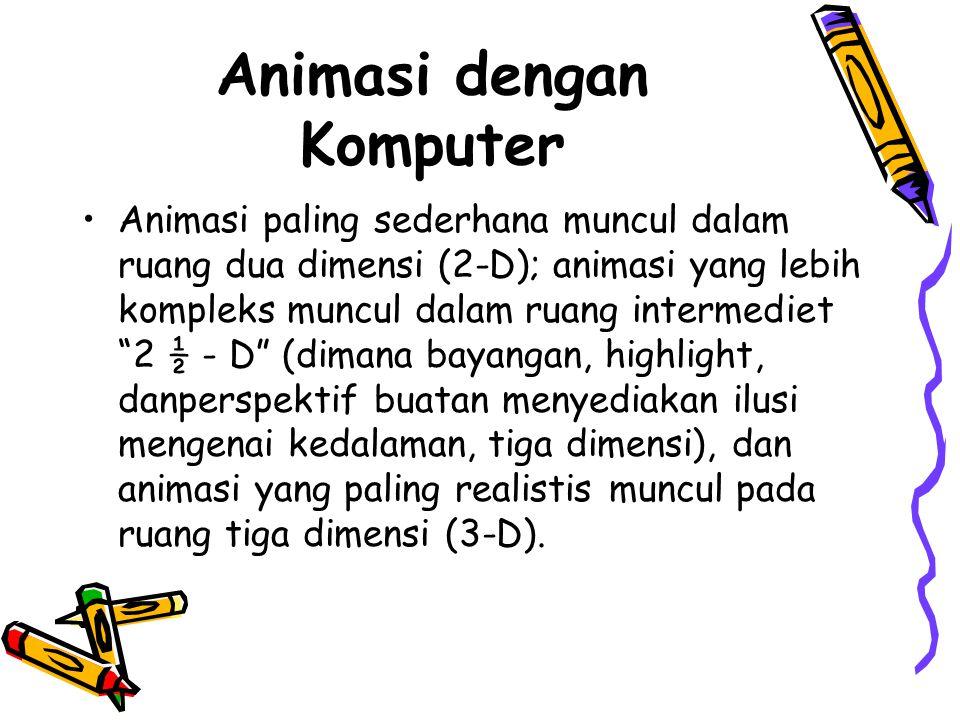 Animasi dengan Komputer