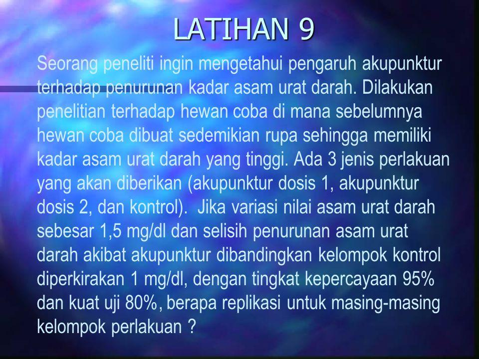 LATIHAN 9