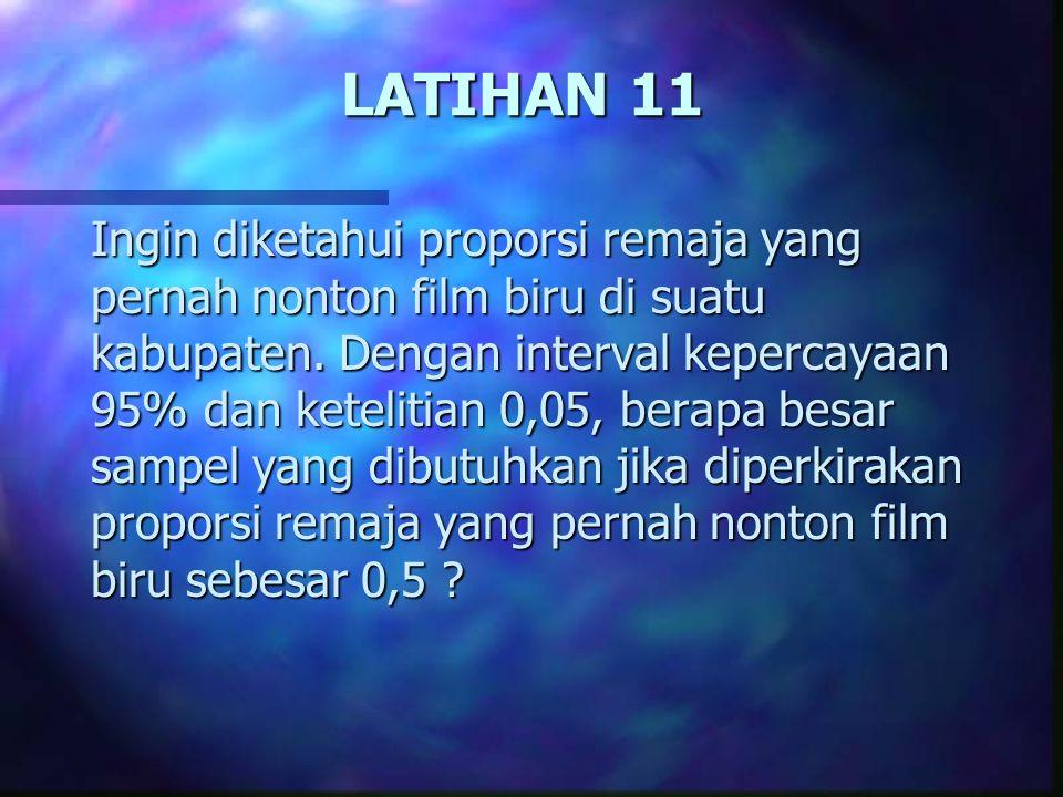 LATIHAN 11