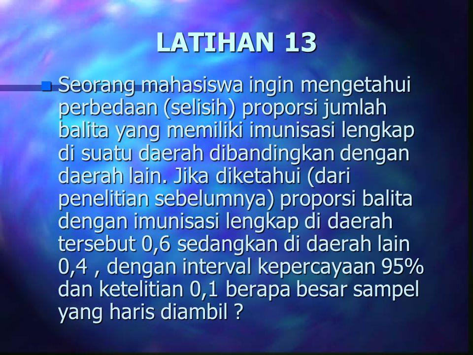 LATIHAN 13