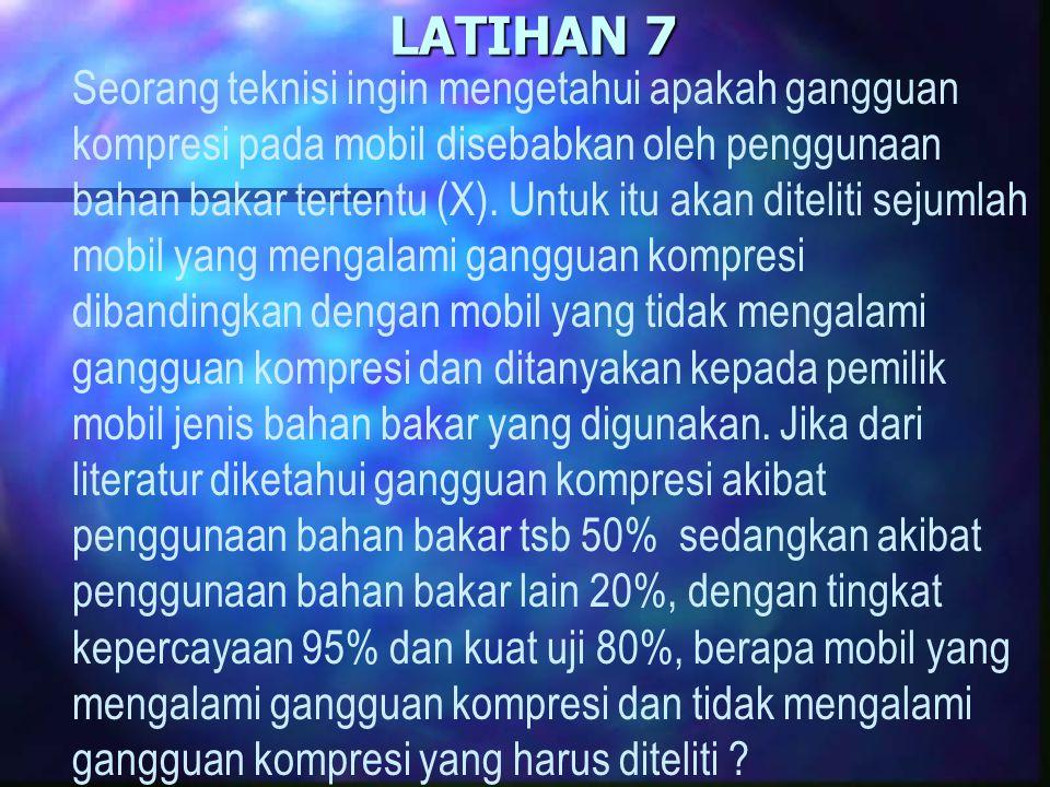 LATIHAN 7