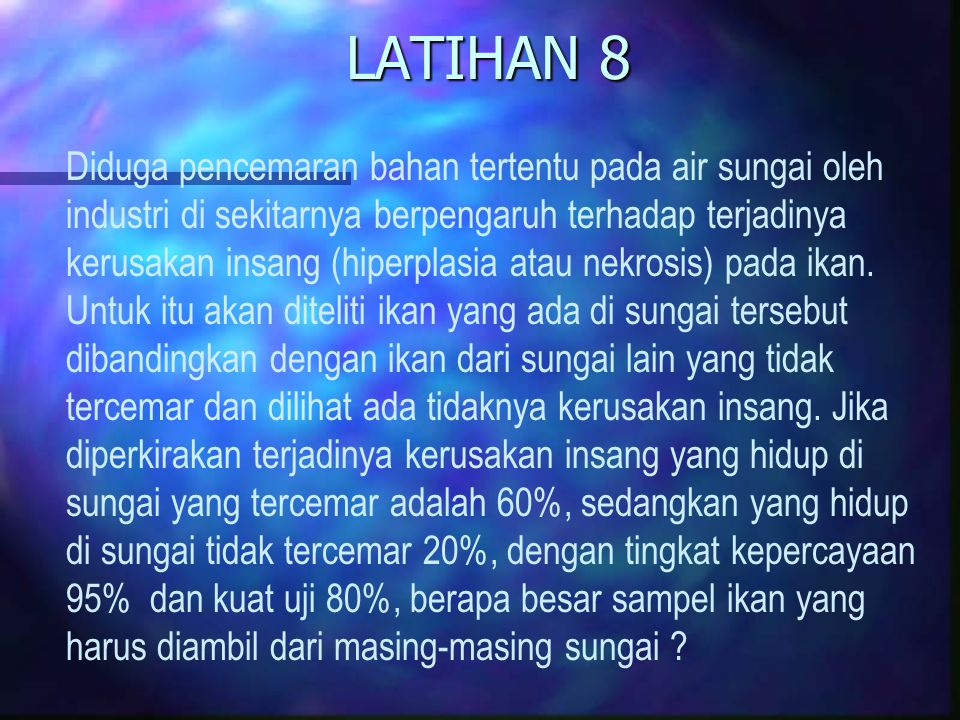 LATIHAN 8