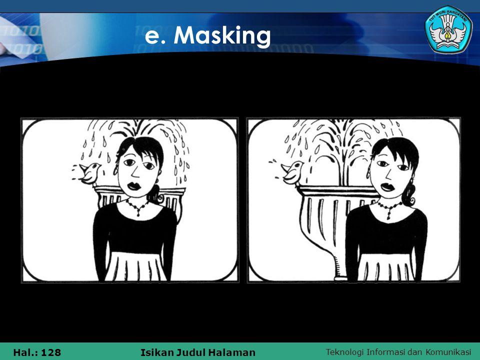 e. Masking