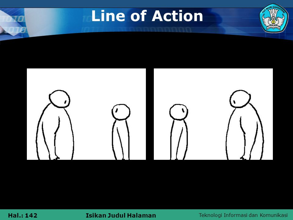 Line of Action A B
