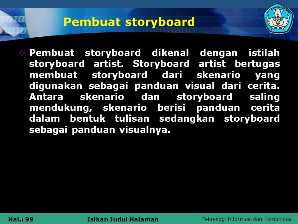 Pembuat storyboard