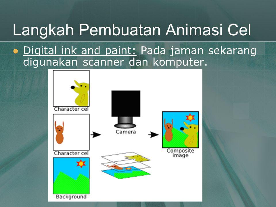 Langkah Pembuatan Animasi Cel