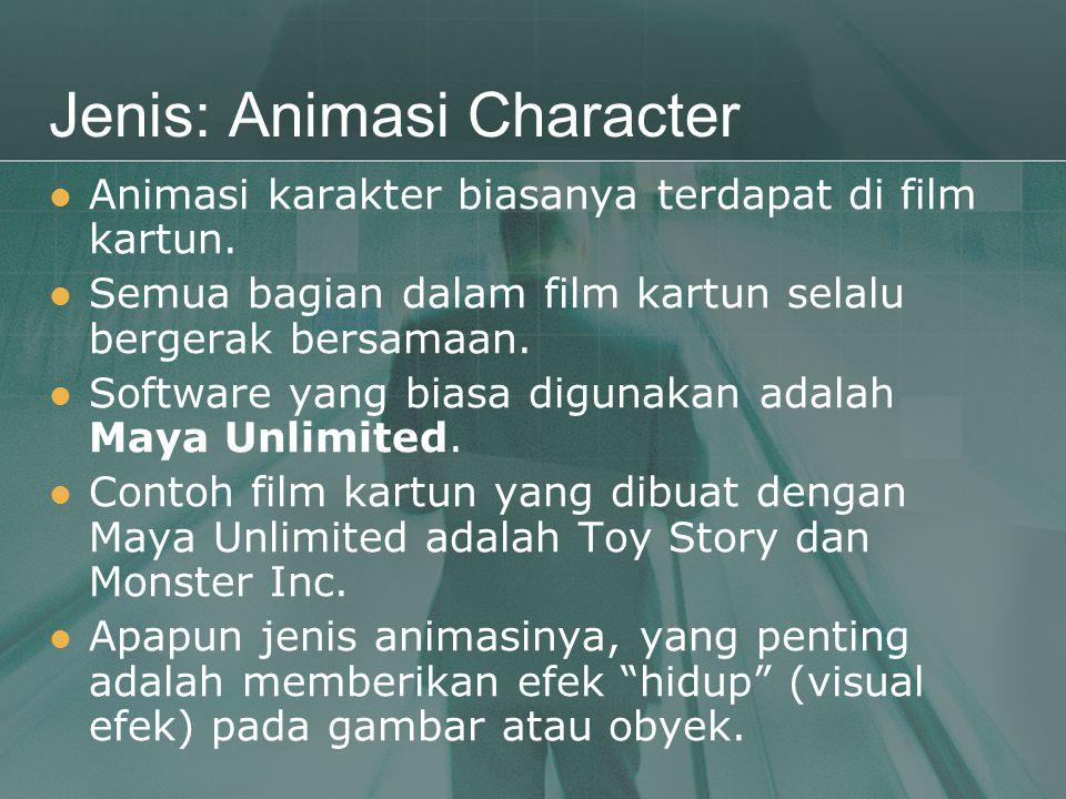 Jenis: Animasi Character