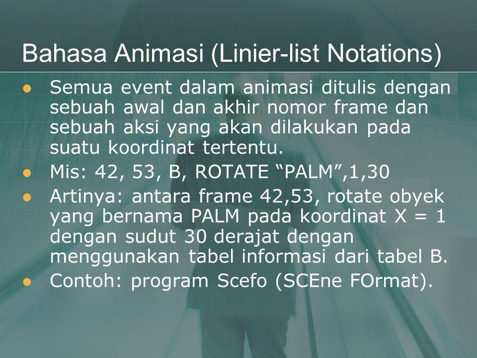 Bahasa Animasi (Linier-list Notations)