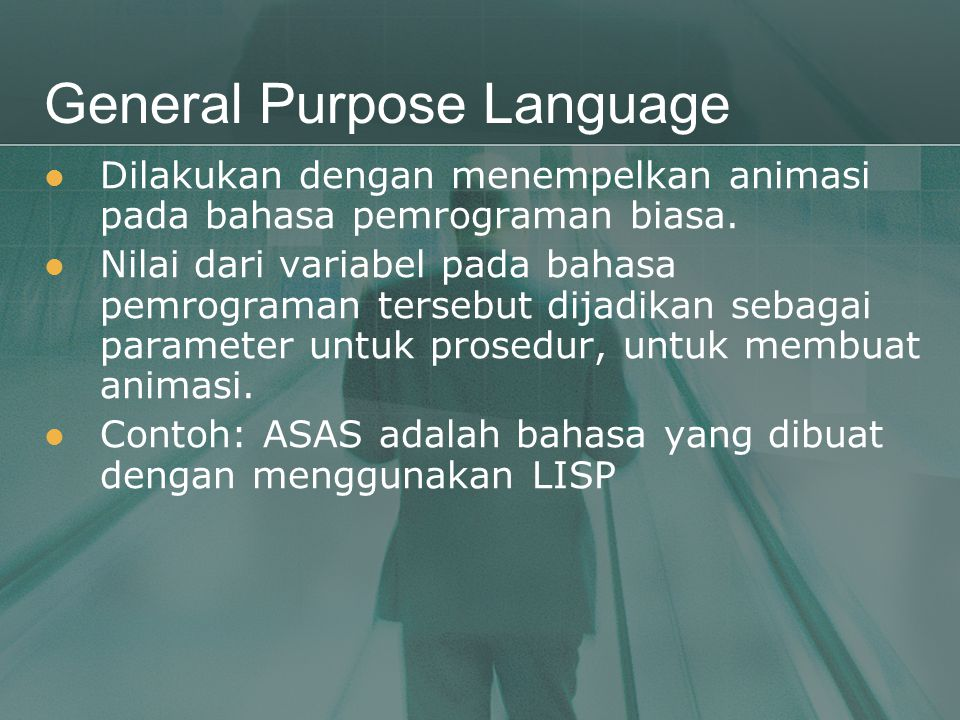 General Purpose Language