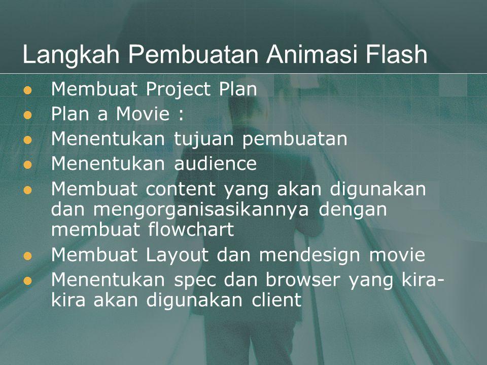 Langkah Pembuatan Animasi Flash