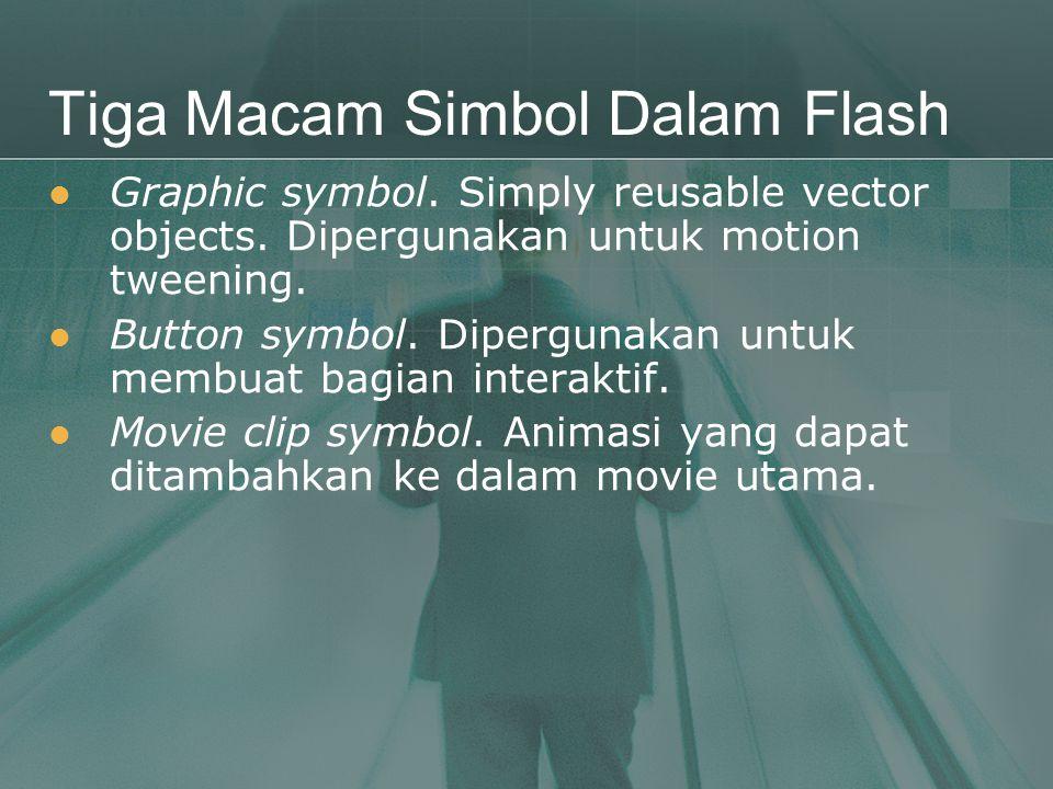 Tiga Macam Simbol Dalam Flash