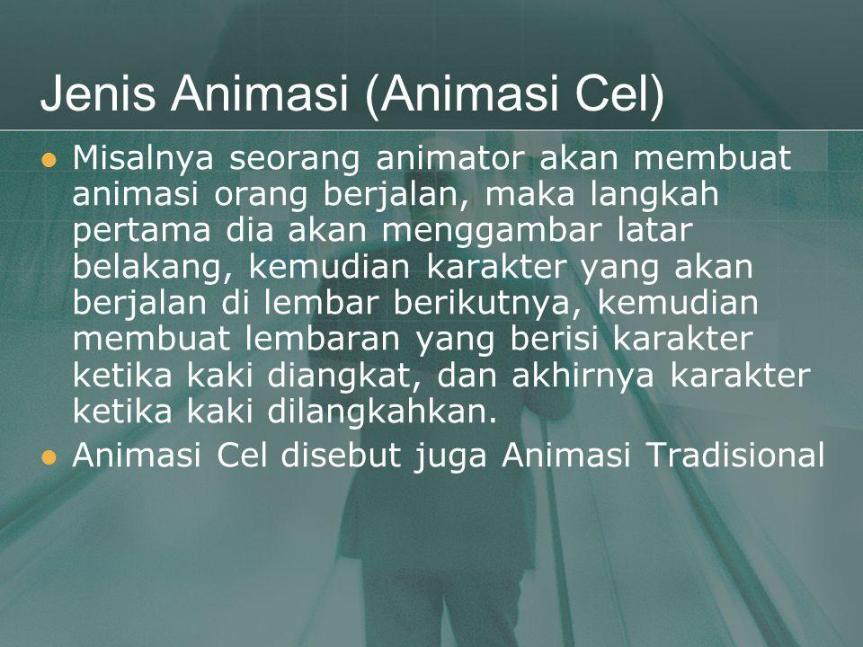 Jenis Animasi (Animasi Cel)