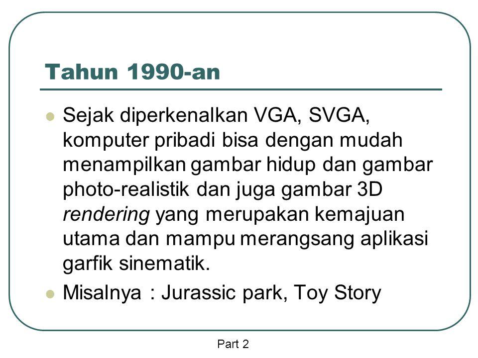 Tahun 1990-an