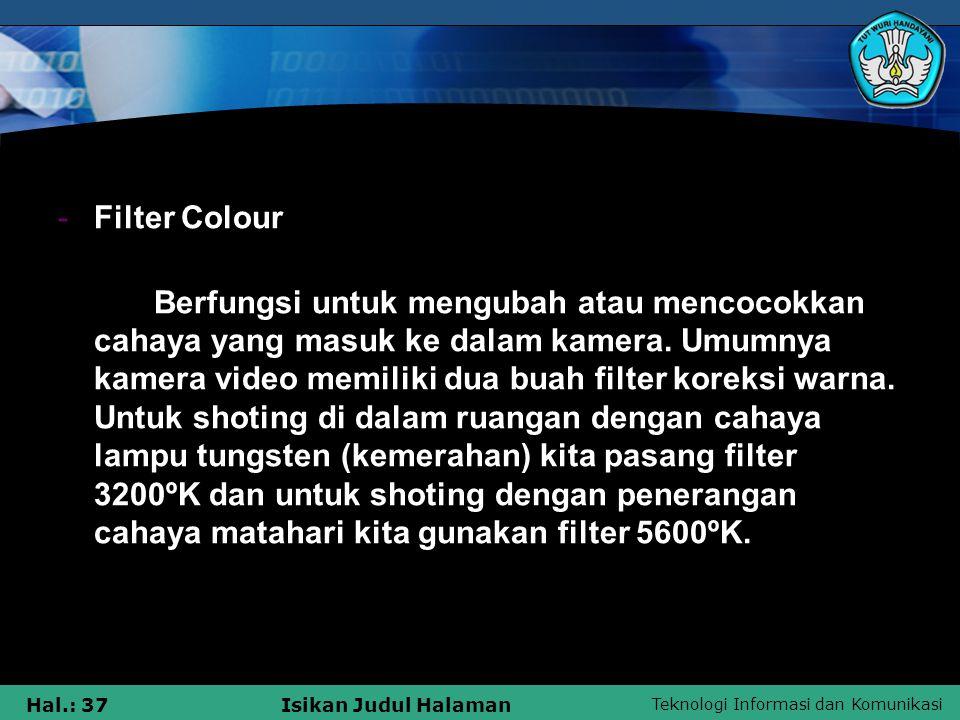 Filter Colour