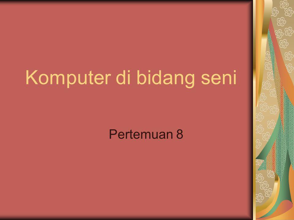 Komputer di bidang seni