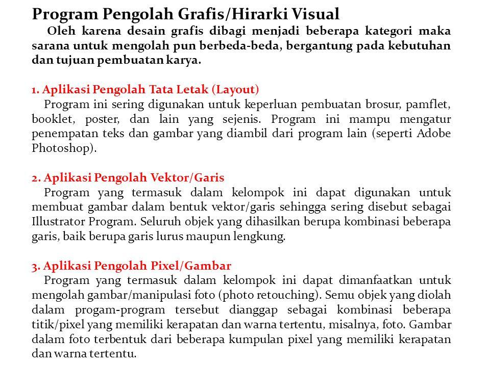 Program Pengolah Grafis/Hirarki Visual