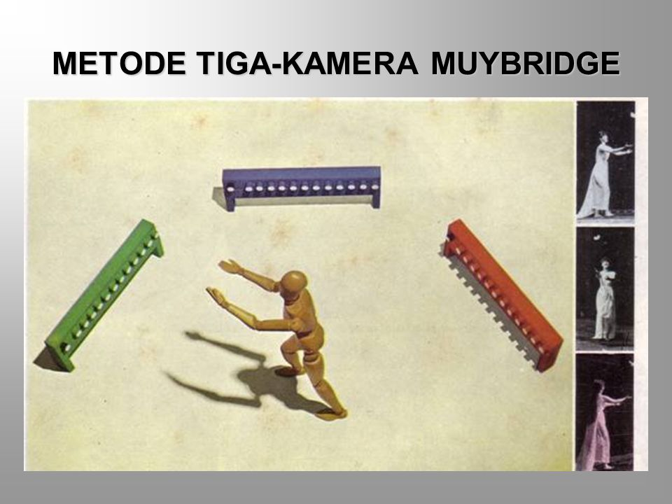 METODE TIGA-KAMERA MUYBRIDGE