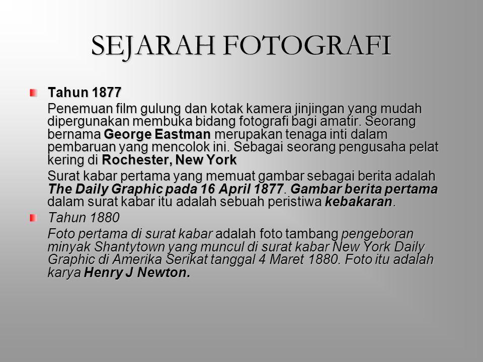 SEJARAH FOTOGRAFI Tahun 1877
