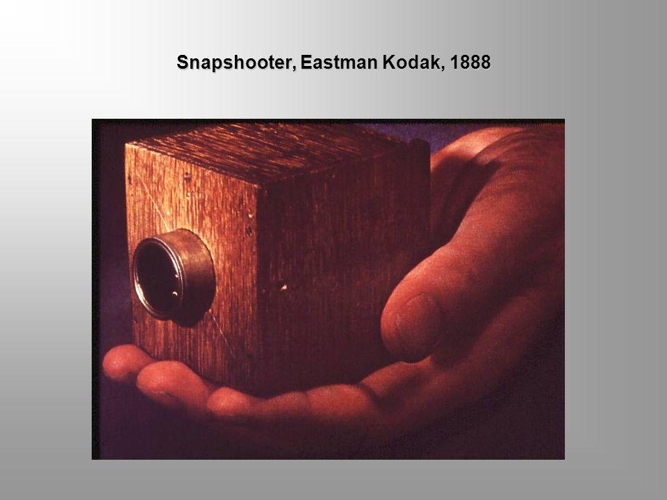 Snapshooter, Eastman Kodak, 1888