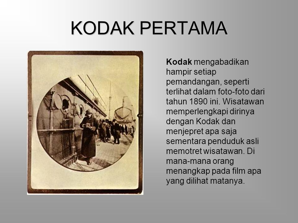 KODAK PERTAMA