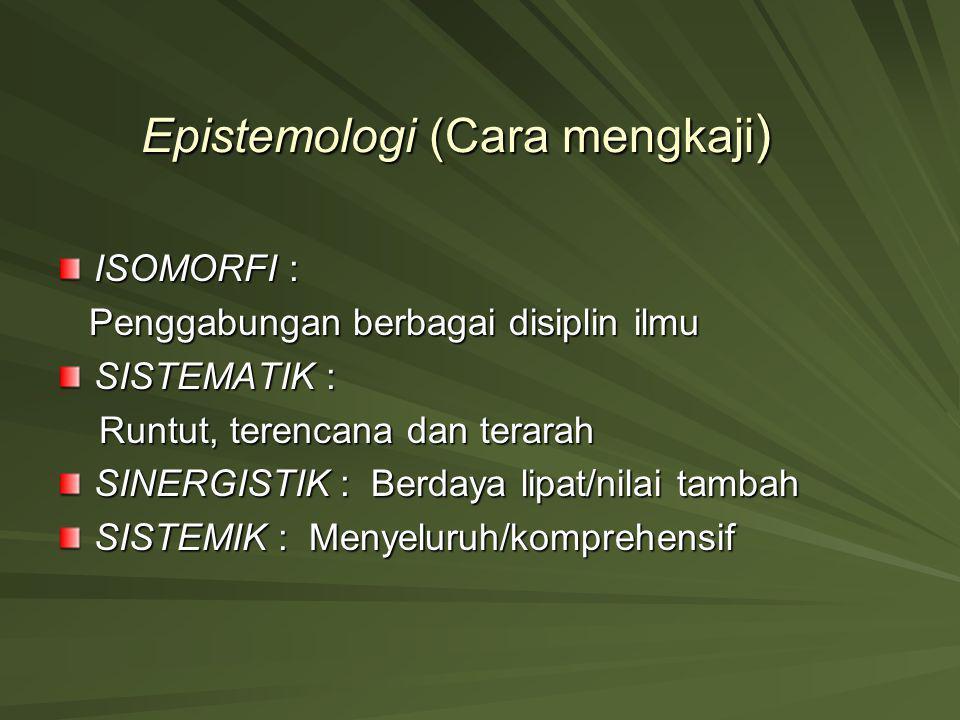 Epistemologi (Cara mengkaji)