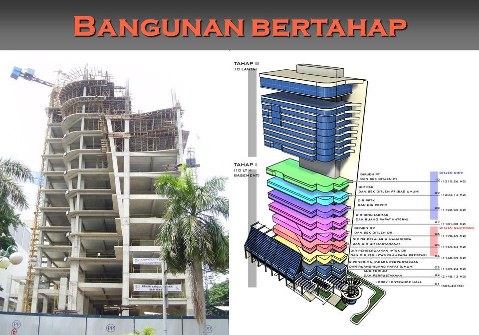 Bangunan bertahap