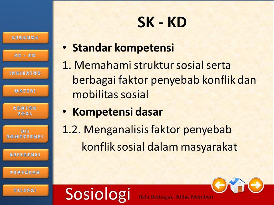 SK - KD Standar kompetensi