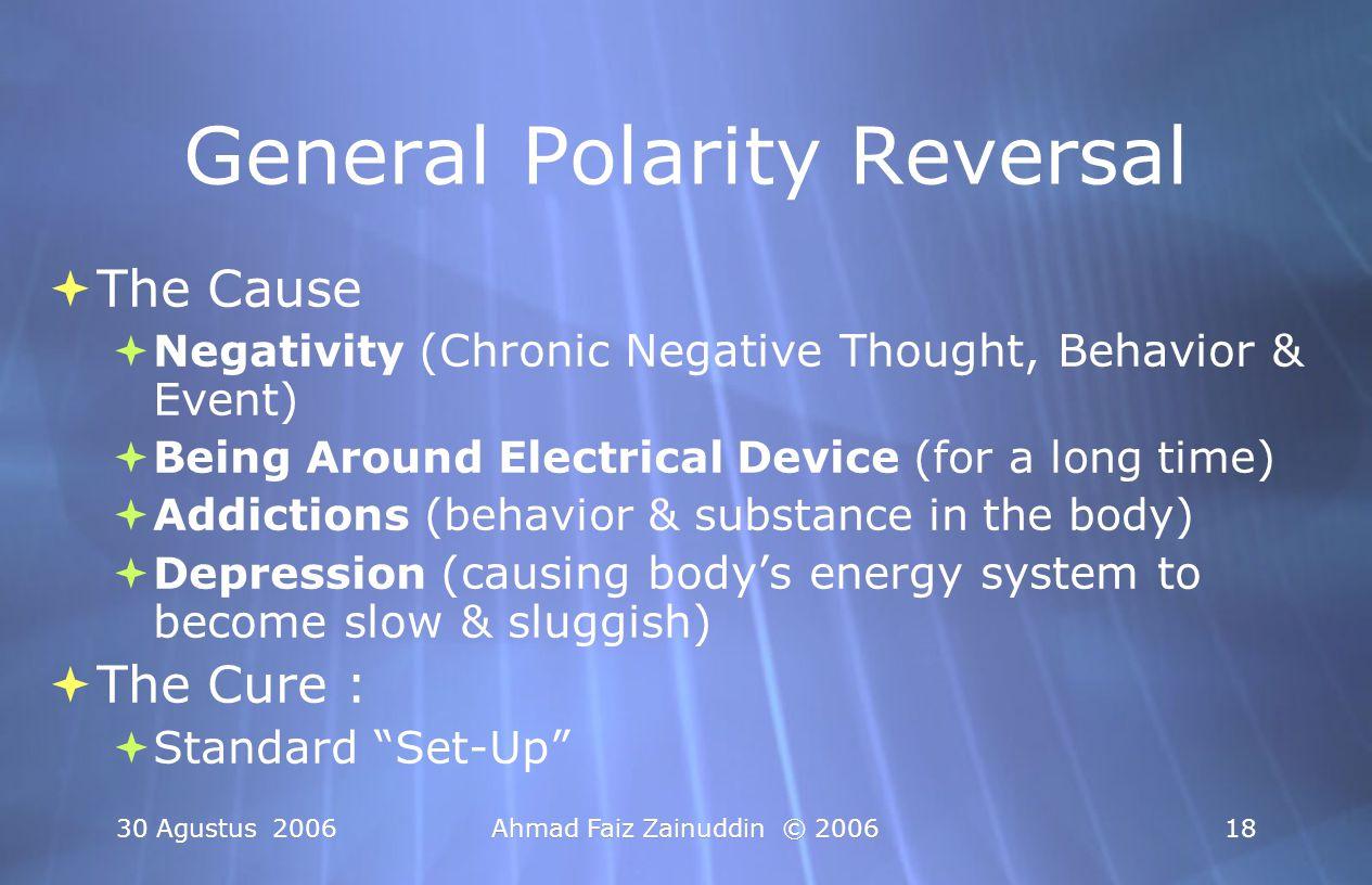 General Polarity Reversal