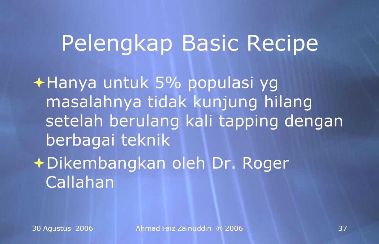Pelengkap Basic Recipe