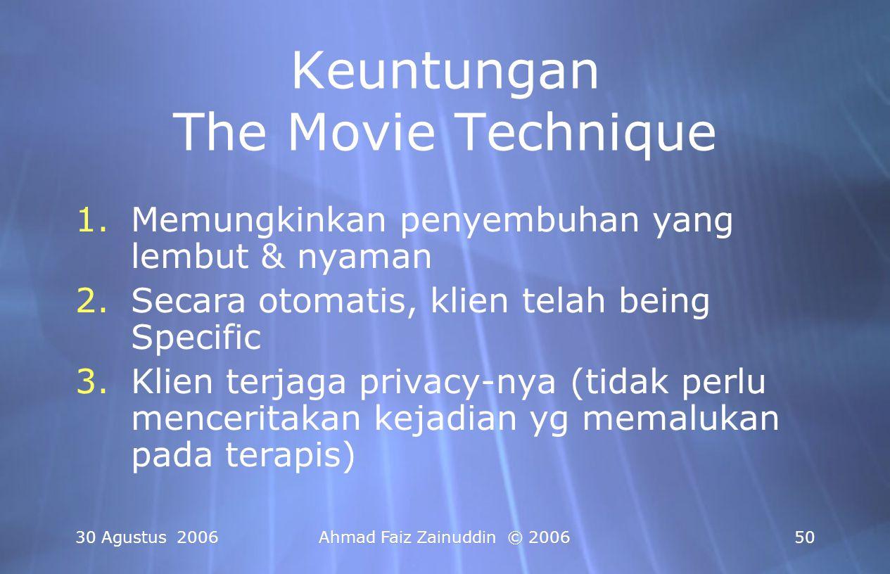 Keuntungan The Movie Technique