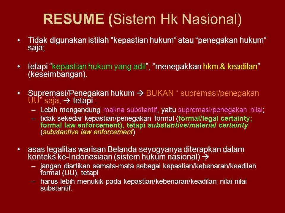 RESUME (Sistem Hk Nasional)