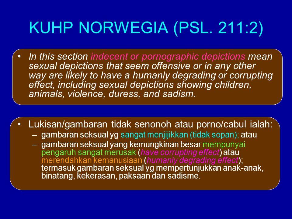 KUHP NORWEGIA (PSL. 211:2)