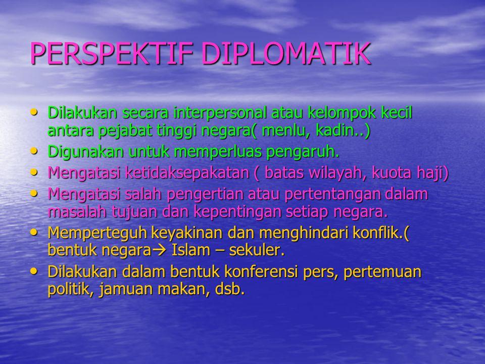 PERSPEKTIF DIPLOMATIK