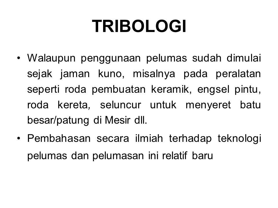 TRIBOLOGI
