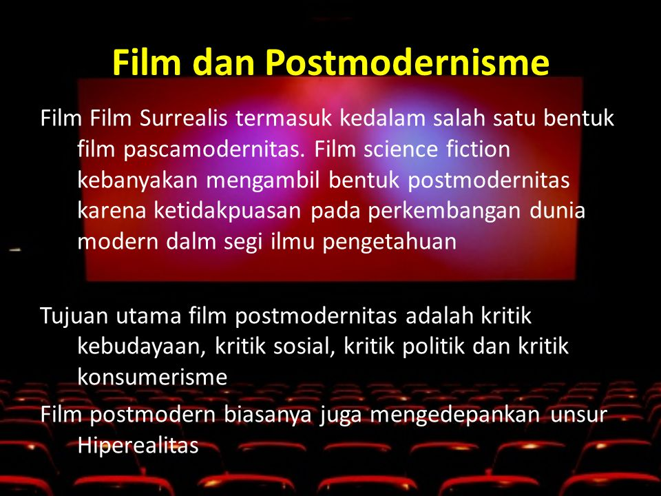 Film dan Postmodernisme