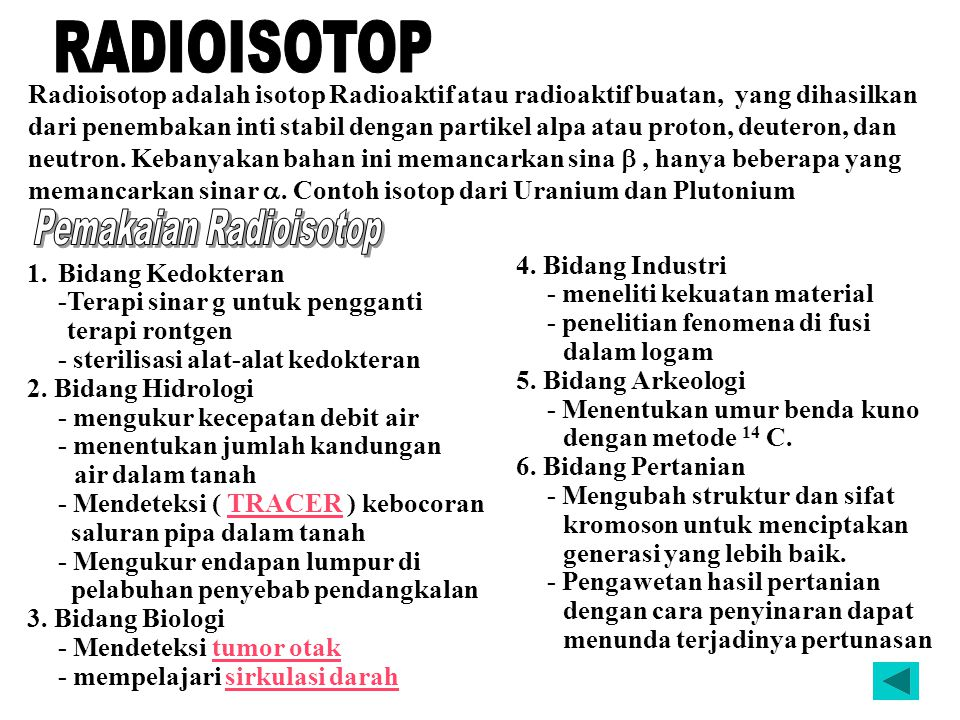 Pemakaian Radioisotop