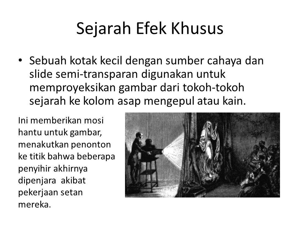 Sejarah Efek Khusus