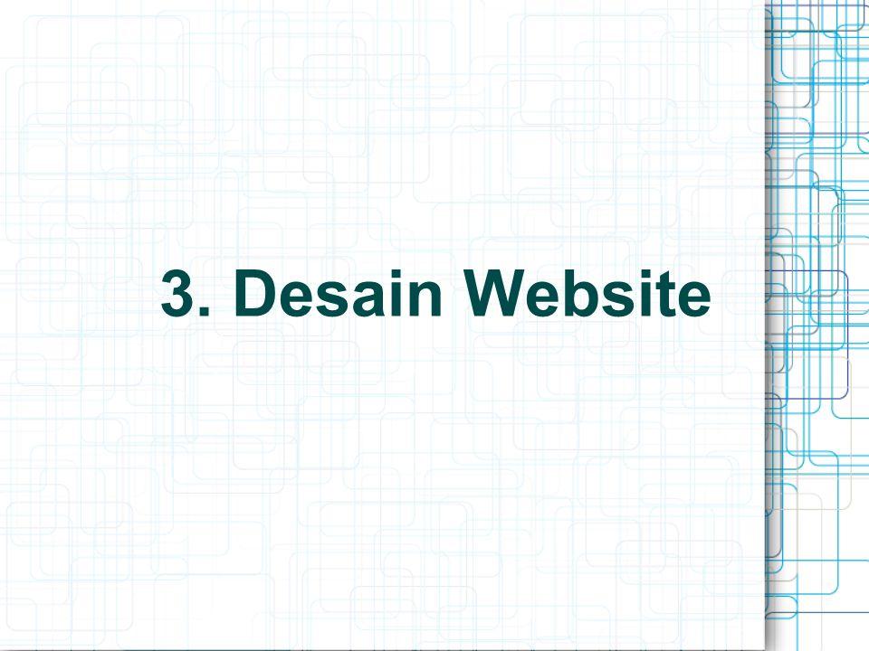 3. Desain Website