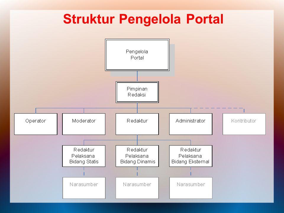 Struktur Pengelola Portal