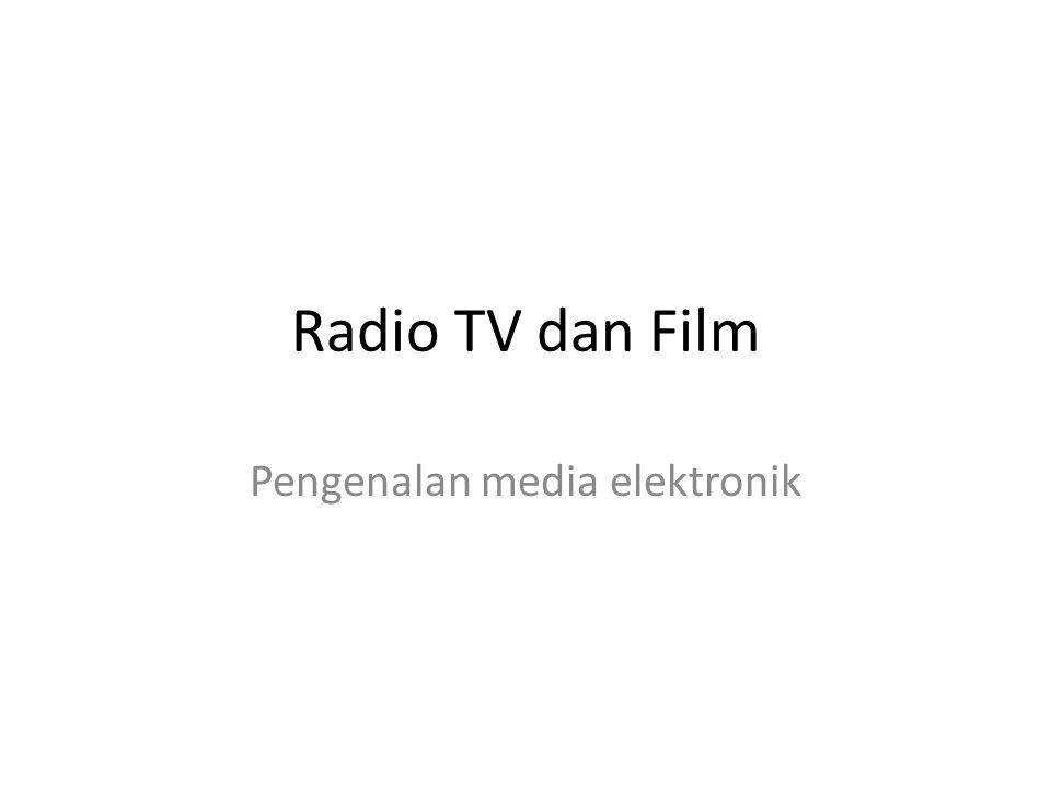Pengenalan media elektronik